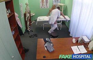 Jag porr fim går för en massage